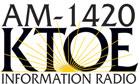 KTOE radio show logo