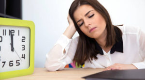 woman who looks burned out or stressed